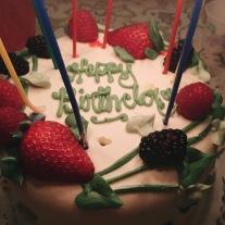 My birthday cake from Sweet Lady Jane
